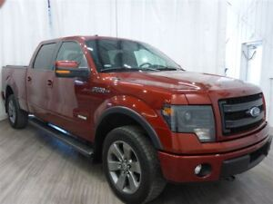 2014 Ford F-150 FX4 Leather Ventilated Seats Sunroof