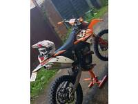 KTM 250 SXF ROAD LEGAL (FRESH REBUILD) OF 125
