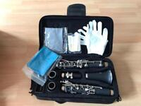 Clarinet - complete with reeds, carry case and learners book