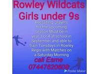 ROWLEY WILDCATS GIRLS FC