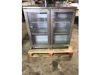 Stainless Steel Double Door Bottle Cooler/ Beer Fridge. Price New £1,200.00!