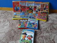 Bob The Builder / Fireman Sam / Numberjacks / Bert & Ernie DVDs