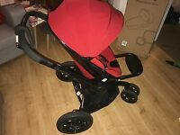 Quinny moodd &a maxi cosi car seat -new seat unit and footmuff