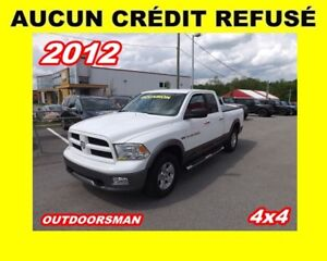 2012 Ram 1500 OUTDOORSMAN 4x4 Quad Cab 140 in. WB