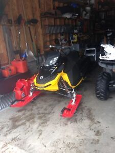 2013 skidoo 600 rs trail converted