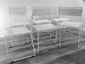 1980 Vintage Spaghetti Chairs by Belotti-Chaises Retro Italienne