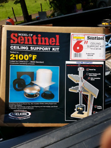 Attic Shield for around Selkirk or sentinel chimney