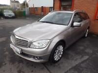 2008 58 MERCEDES-BENZ C CLASS C200 CDI ELEGANCE 2.1 5DR ESTATE DIESEL