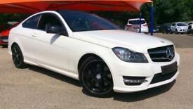 2013 Mercedes-Benz C-Class Sports Coupe C250 BlueEFFICIENCY AMG Sport Automatic