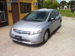 Honda Civic Sedan  safety $6500 +hst
