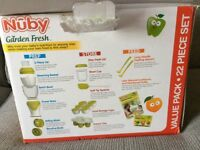 Nuby garden fresh baby food blender