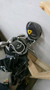 Lightly used x series Callaway set with cobra flyz driver.