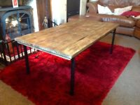 COFFEE TABLE HALL TABLE - BESPOKE - RECLAIMED WOOD - CAN DELIVER