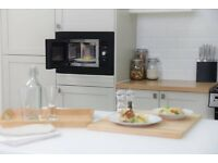 NEW Russell Hobbs 800W Built-in Integrated Digital Microwave - Black