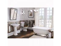 Victorian style bath suite £570