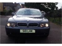 BMW 7 SERIES 745i 4.4l PETROL AUTO (FULL BMW HISTORY FROM NEW, PRIVATE PLATE INCLUDED IN SALE.)