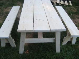 Table and bench set 6ft (Free Delivery)