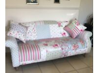 DFS DOLL PATCHWORK 3 SEATER SOFA CAN DELIVER