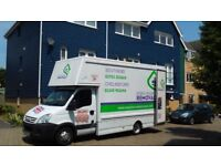 Man With Van Removals service for Southend, Brentwood, Chelmsford, Romford. **Driver Required**
