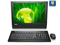 Lenovo A70Z. Core2duo E6500 3 GHZ.4GB Ram. 320GB HDD WINDOWS 7PRO 64BIT WIFI