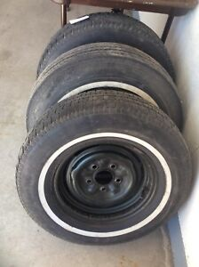 3 All Season Tires for spares for classic Chevy