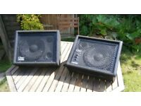 100W Carlsboro Floor Monitors in Good Condition
