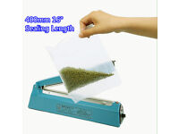 New Large 400mm Impulse Heat Sealer PE PP Plastic Bag Film Sealing Machine Food Storage