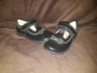 Girls clarks shoes size 6F