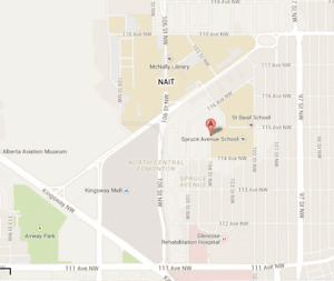 Day Parking Stall: 5 Min. Walk to NAIT and 8 Min. to Glenrose