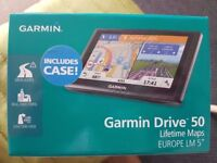 Garmin Drive 50LM 5 Inch Europe Lifetime Maps & Case