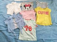 Girls t-shirts for 3-4 years old