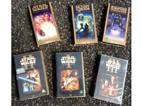 Star Wars Special Edition VHS Tapes