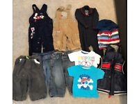Boys Bundle Of Clothes 9-12 Months