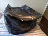 Leather Look Giant Bean Bag