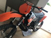 2010 KTM 250 2 STROKE - never really been used, all clean and just had full service.perfect