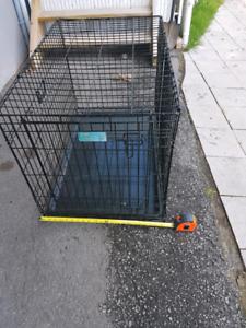 Cage à chien moyen