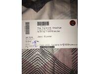 2 x Jess Glynn tickets - Falkirk Stadium - £100
