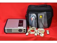 Sahara S2000 LCD Projector with Carry Case and Leads £100