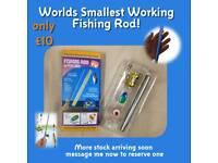 Mini fishing rods
