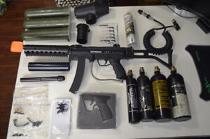 Upgraded Tippmann A5 & Accessories