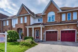 Beautiful Detached 2 Storey Freehold Townhome Located In Whitby