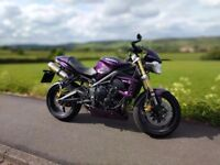 2013 Street Triple 675 Purple