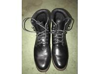 Black Walking Boots. Size 9