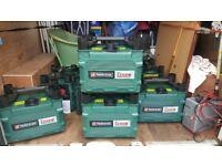 parkside, 1200watt petrol generator (suitcase type)