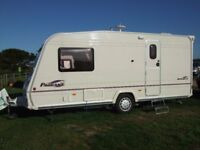 Bailey Pageant Monarch Series 5 2005 2 Berth Caravan ,End Bathroom