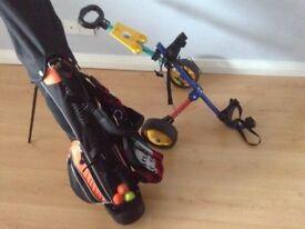 Ben Sayers junior golf clubs package