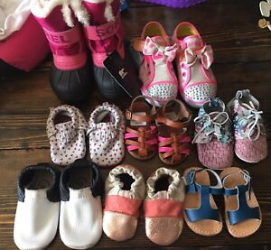 New toddler and infant shoes