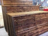 Top Quality Waneylap Fence Panels Pressure Treated
