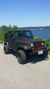 1995 JEEP YJ LOW KM
