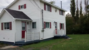 Convenient, country living just 10 min from Oromocto (Sept. 1st)